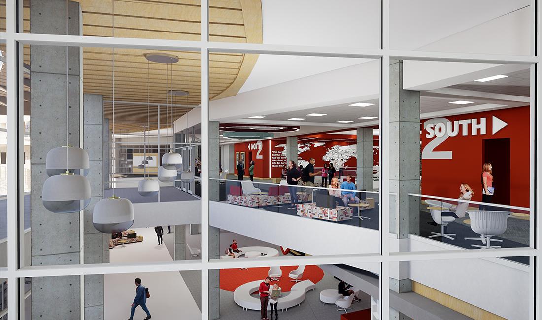 Highlands College TURNERBATSON Architecture Interior 3