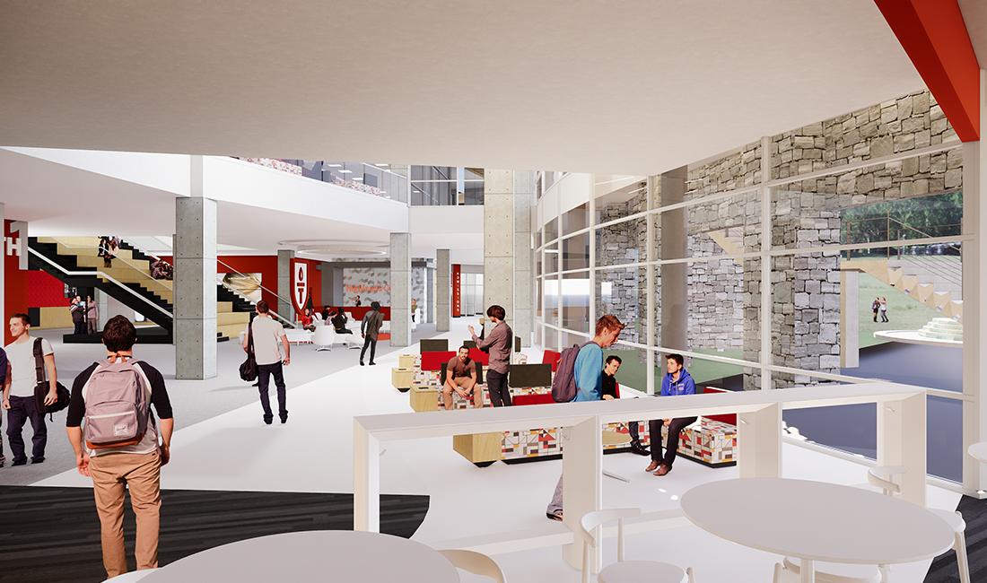 Highlands College TURNERBATSON Architecture Interior 4