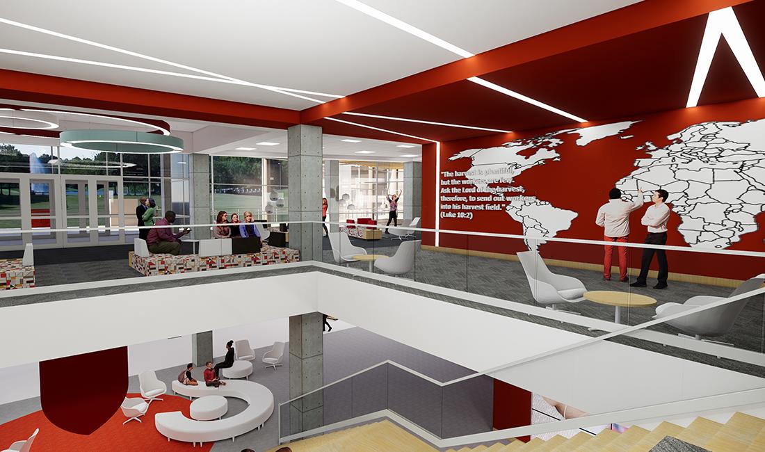 Highlands College TURNERBATSON Architecture Interior