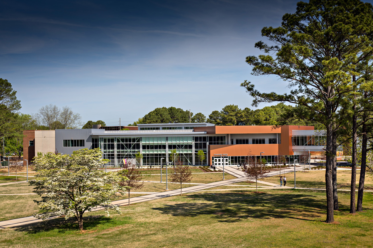 TURNERBATSON Architects Higher Education Architecture -UAH Charger Student Union 9