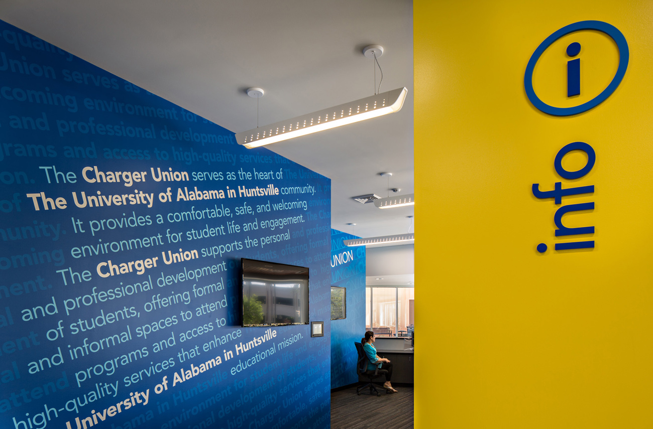 TURNERBATSON Architects Higher Education Architecture -UAH Charger Student Union12