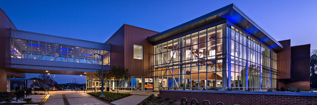 TURNERBATSON Architects Higher Education Architecture -UAH Charger Student Union13