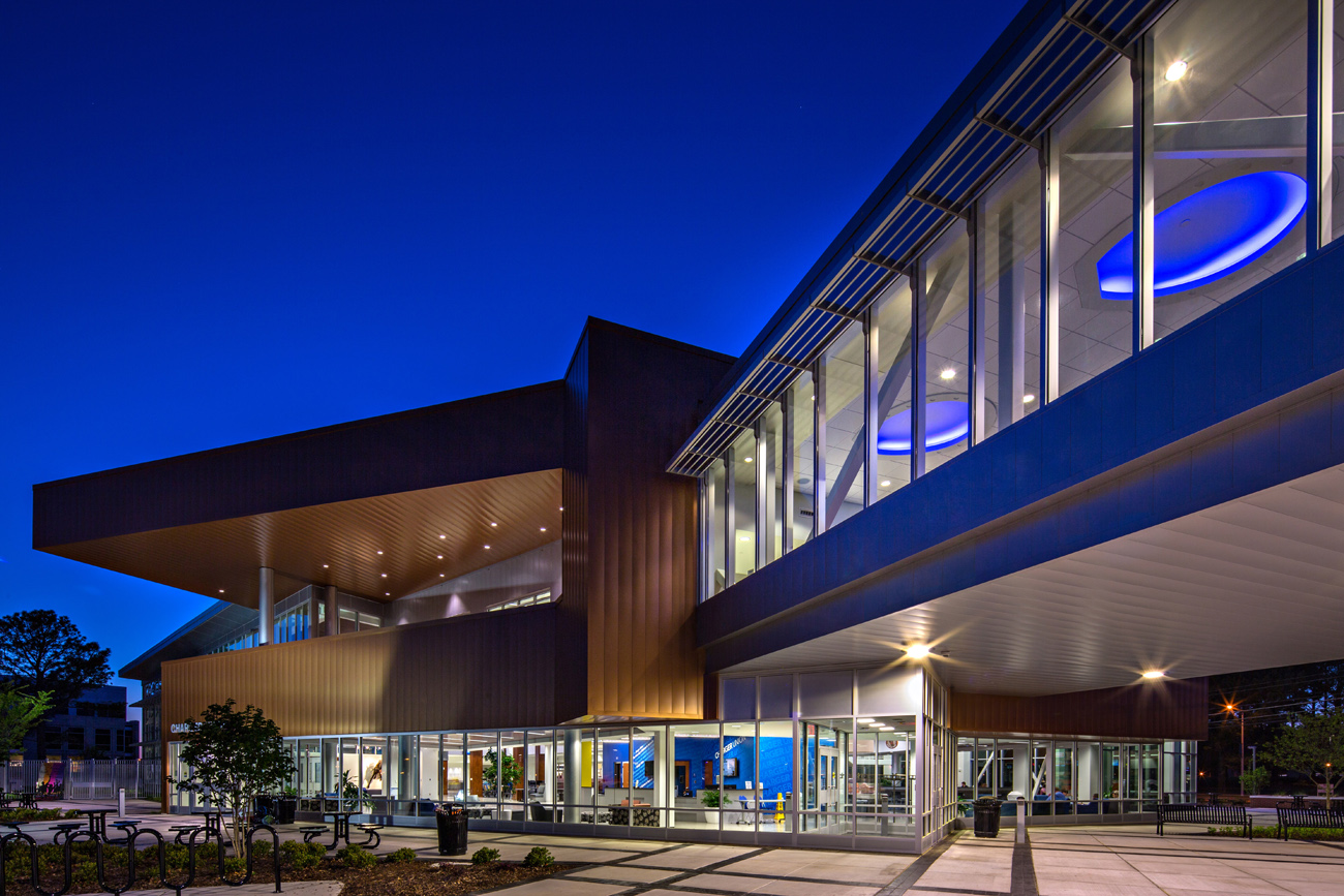 TURNERBATSON Architects Higher Education Architecture -UAH Charger Student Union17