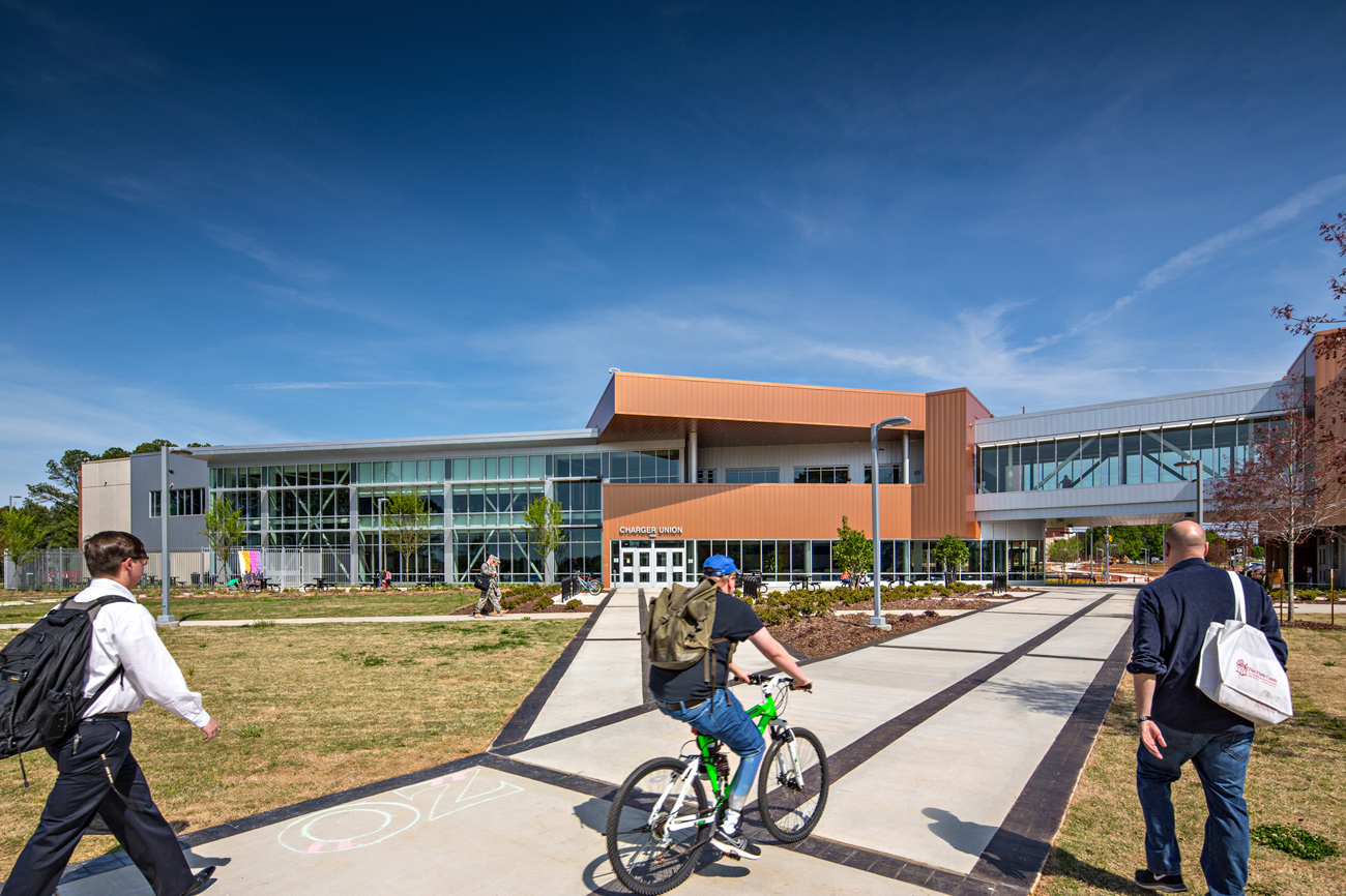 TURNERBATSON Architects Higher Education Architecture -UAH Charger Student Union18