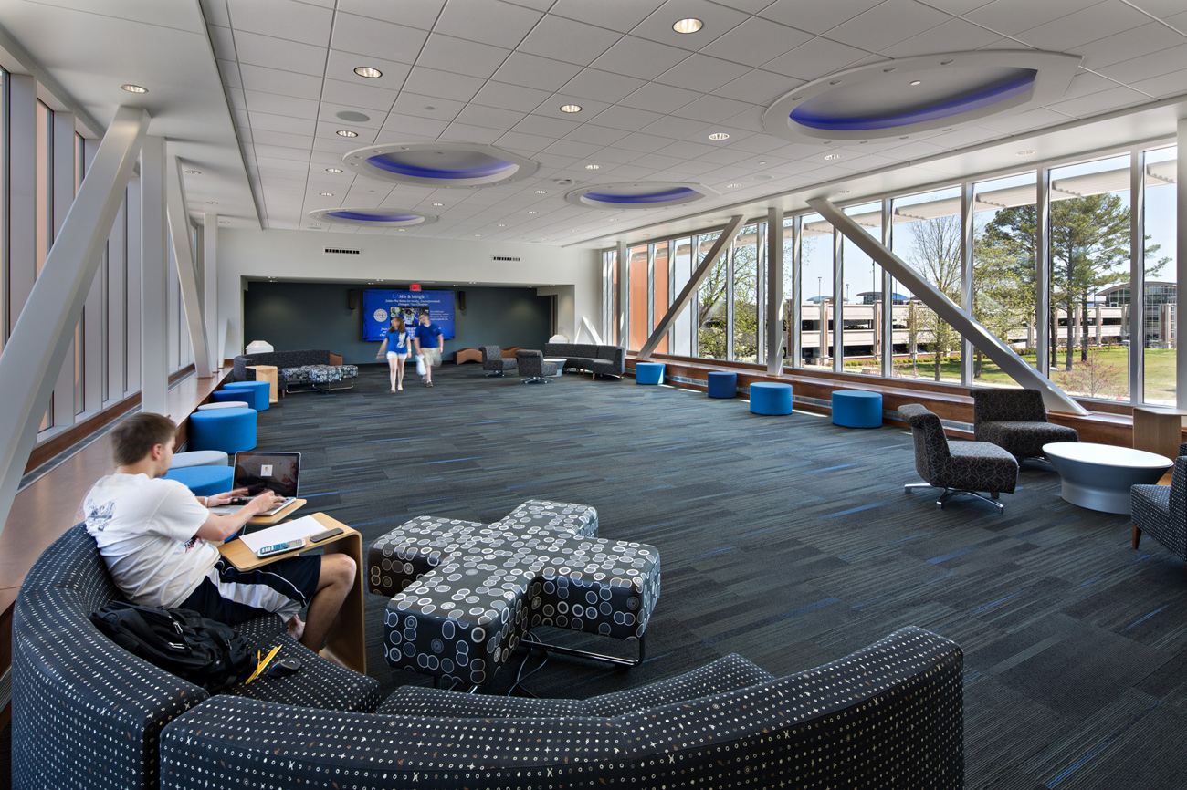 TURNERBATSON Architects Higher Education Architecture -UAH Charger Student Union 17