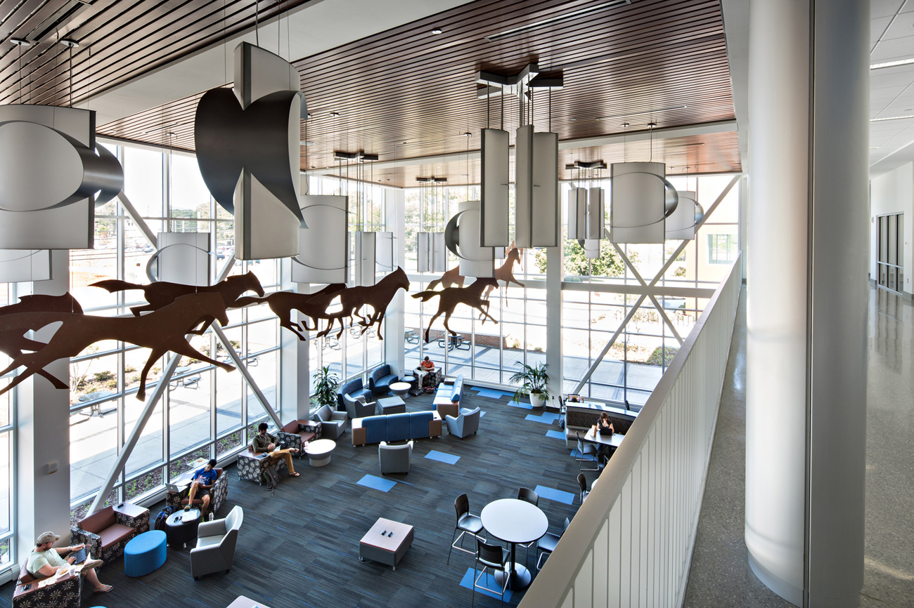 TURNERBATSON Architects Higher Education Architecture -UAH Charger Student Union3