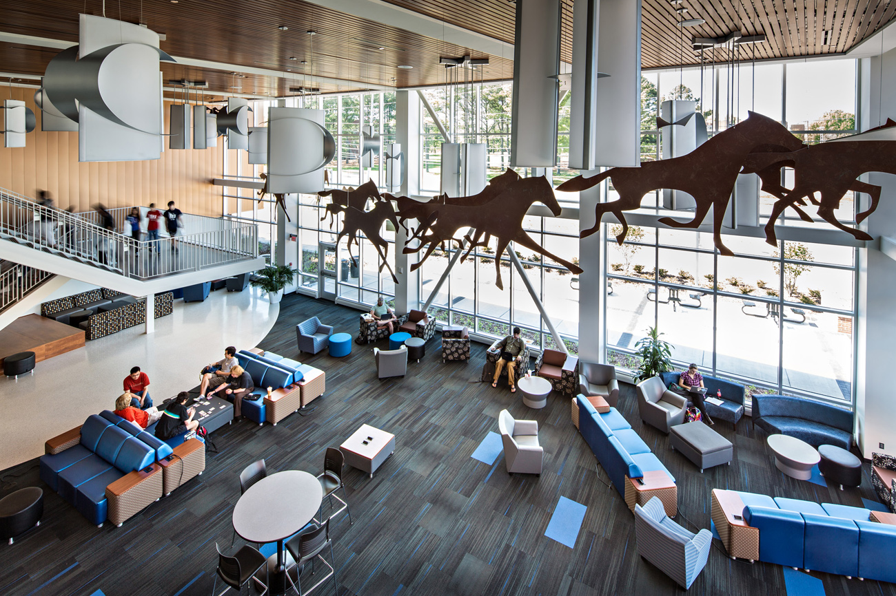 TURNERBATSON Architects Higher Education Architecture -UAH Charger Student Union 15