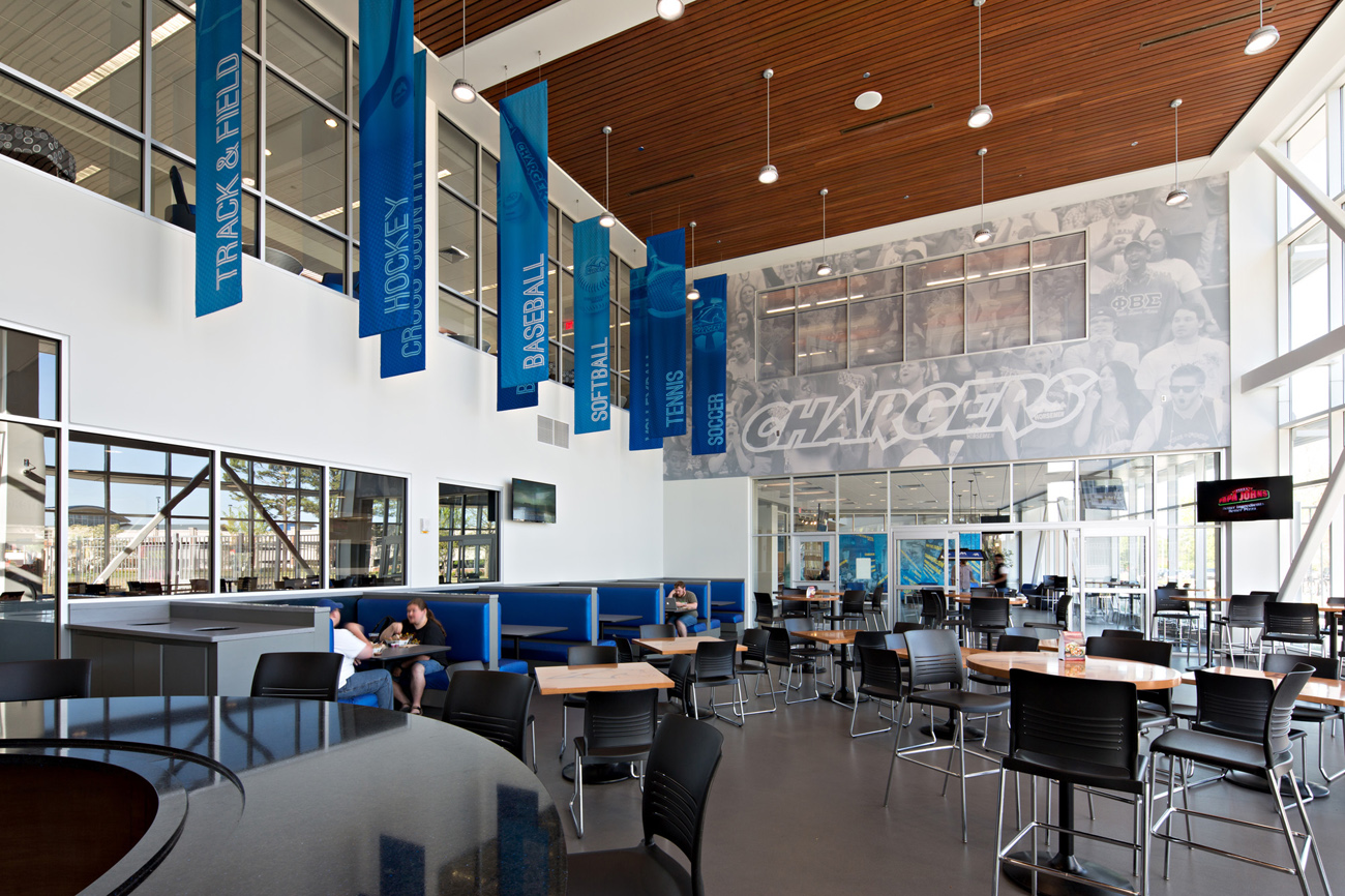 TURNERBATSON Architects Higher Education Architecture -UAH Charger Student Union 14