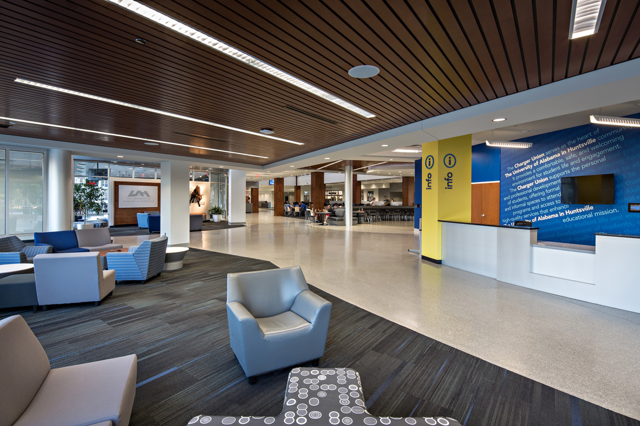 TURNERBATSON Architects Higher Education Architecture -UAH Charger Student Union6
