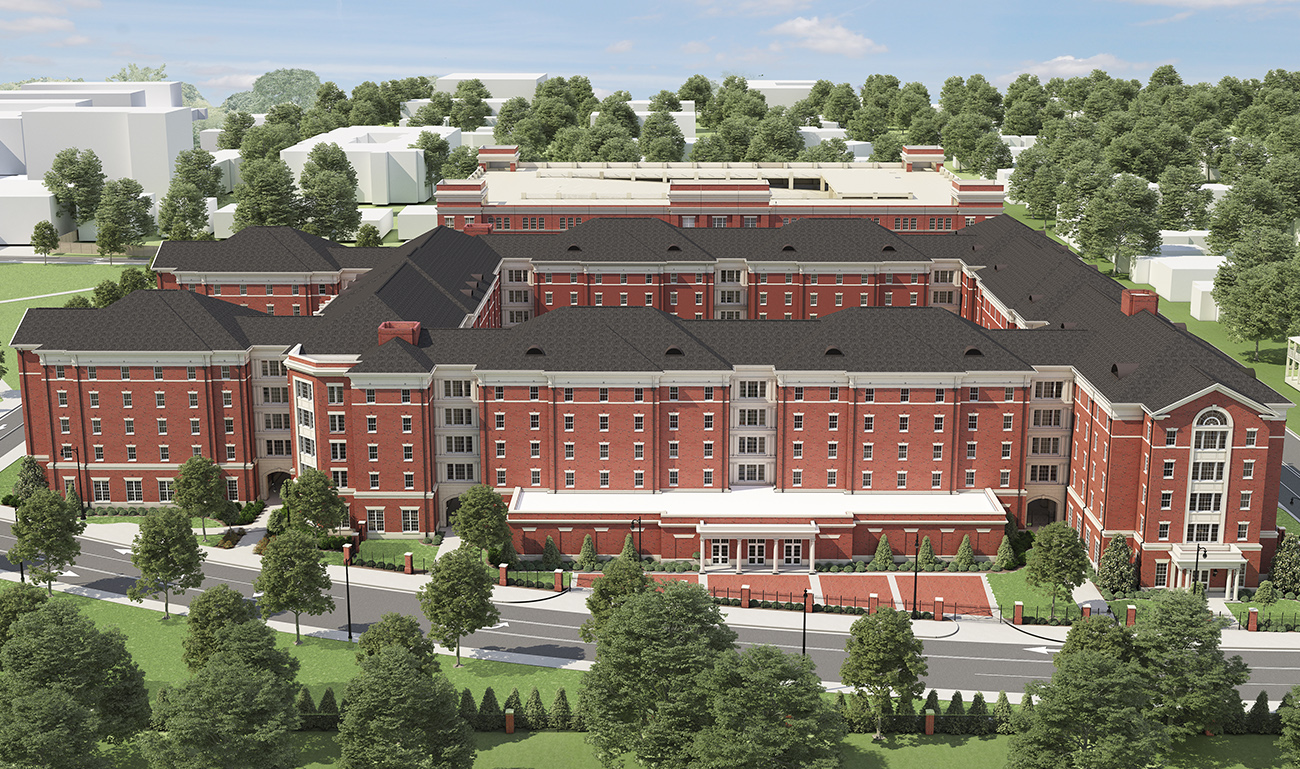 University of Alabama Tutwiler Residence Hall via turnerbatson architecture 4