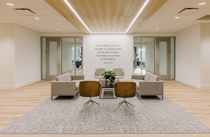 Church of the Highlands - Central Office Renovation -IDIE Awards